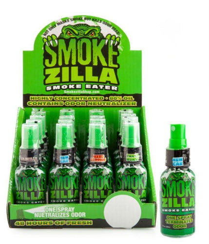 Smoke Zilla Smoke Eater Spray Terminates Odour - Best Bongs And More