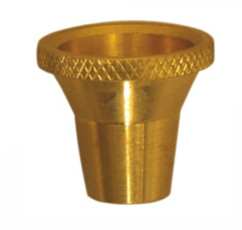 Large Bonza Brass Cone Pieces 1-10 Pack - Best Bongs And More