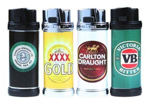 Beer Design Refillable Jet Lighters