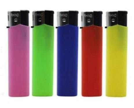 Coloured Clicker Lighters 5 Pack - Best Bongs And More