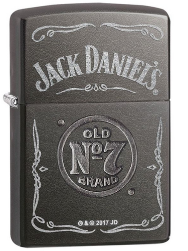 Genuine Zippo Jack Daniels Windproof Refillable Lighter - Best Bongs And More