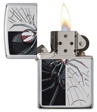 Load image into Gallery viewer, Genuine Zippo Spider Windproof Refillable Lighter - Best Bongs And More