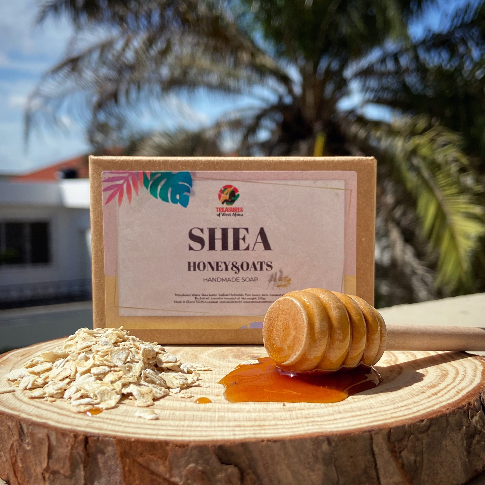 Shea Honey & Oats Soap