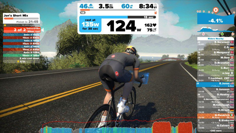 Zwift on show with Sprockets Cycles at SCROPS 2017