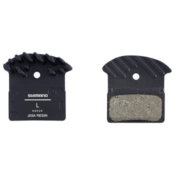 Shimano J03A Disc Brake Pads with Cooling Fins - Sprockets Cycles