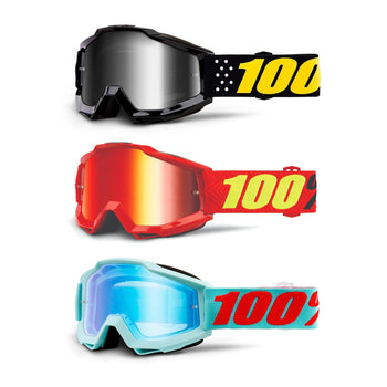 100% Accuri Mirror Lens Goggles - Sprockets Cycles