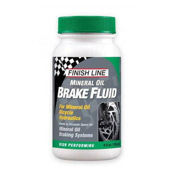 Finish Line Mineral Oil Brake Fluid 120 ml - Sprockets Cycles