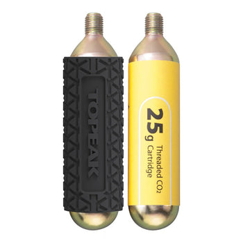 Topeak CO2 Cartridges with Sleeve 2 Pack