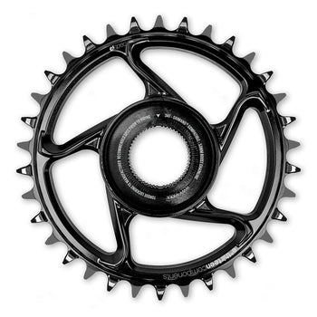 E*Thirteen Aluminium DM Chainring Shimano E8000 Black 34T