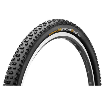 "Continental Mountain King II RaceSport 26x2.2"" Folding Tyre - Black Chili"