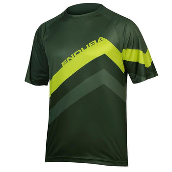 Endura SingleTrack Core Print Tee - Sprockets Cycles