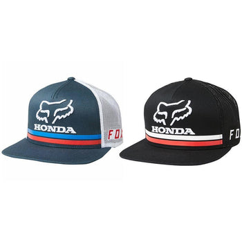 Fox Clothing Honda Snap Back Hat - Sprockets Cycles