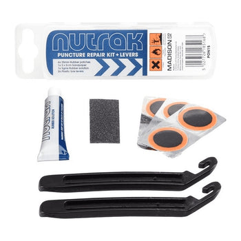 Nutrak Puncture Repair Kit Including Tyre Levers - Sprockets Cycles
