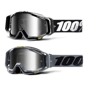 100% Racecraft Mirror Lens Goggles - Sprockets Cycles
