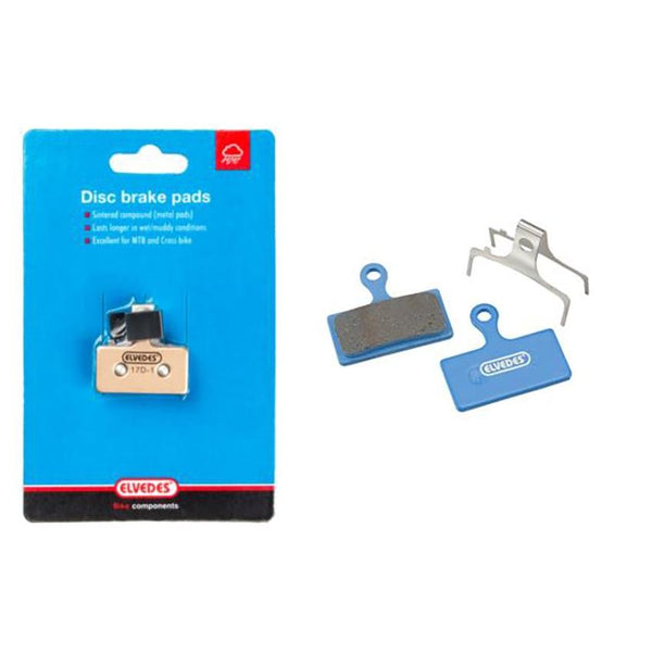 Elvedes 6894 Organic Disc Brake Pads - Shimano (Pair) - Sprockets Cycles