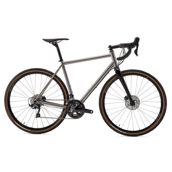 Enigma Escape Disc Titanium Frame with Fork and Headset - Sprockets Cycles