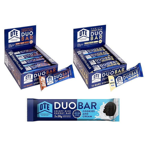 OTE Duo Energy Bar Box of 12 - Sprockets Cycles