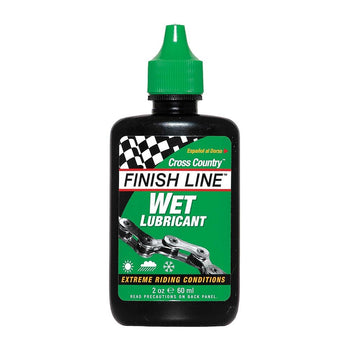 Finish Line Cross Country Wet Lube 60ml - Sprockets Cycles