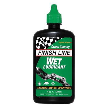 Finish Line Cross Country Wet Lubricant 120ml - Sprockets Cycles