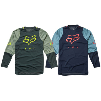 Fox Clothing Youth Defend LS Jersey