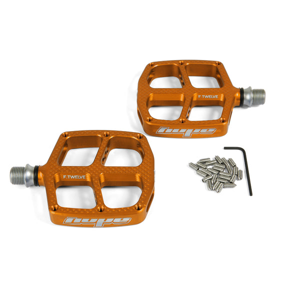 Hope F12 Kids Flat Pedals - Sprockets Cycles