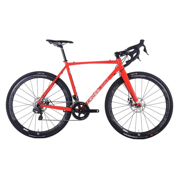 Kinesis Crosslight Pro 6 V2 Rival Cyclocross Bike 2018 - Red 54cm - Sprockets Cycles
