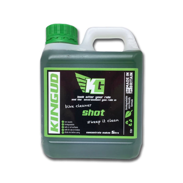 Kingud Shot Bike Cleaner Concentrate 1L - Sprockets Cycles