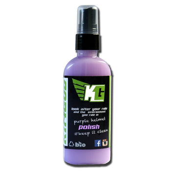 Kingud Purple Helmet Polish 100ml - Sprockets Cycles