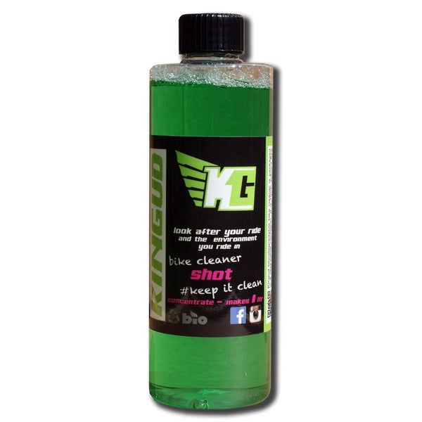Kingud Shot Bike Cleaner Concentrate 200ml - Sprockets Cycles