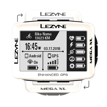 Lezyne Mega XL GPS SE - Sprockets Cycles