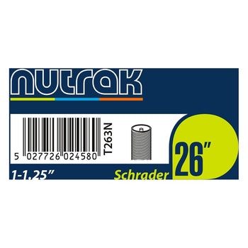"Nutrak 26"" Inner Tubes (Various Sizes) - Sprockets Cycles"