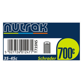 Nutrak 700c Inner Tubes (Various Sizes) - Sprockets Cycles