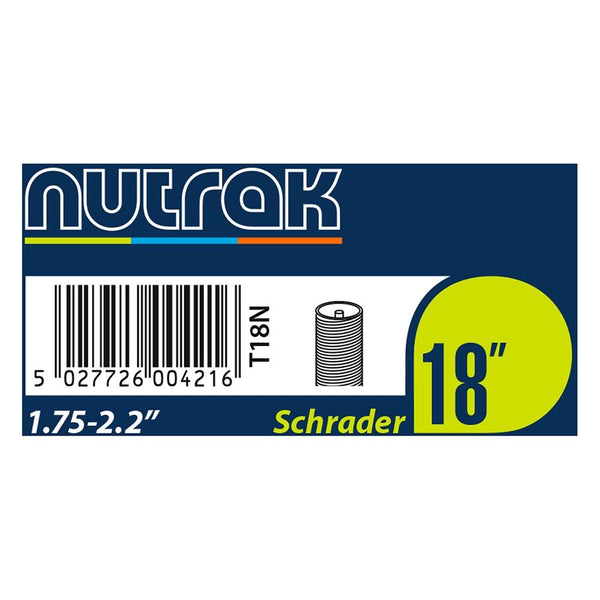 "Nutrak 18"" Inner Tubes - Sprockets Cycles"