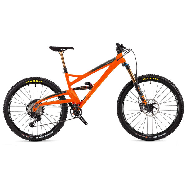 Orange Switch 6 Factory Full Suspension Mountain Bike 2020 - Sprockets Cycles