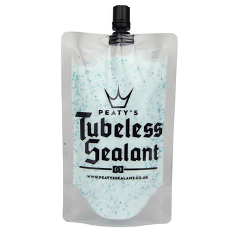 Peaty's Tubeless Sealant 120ml Trail Pouch - Sprockets Cycles