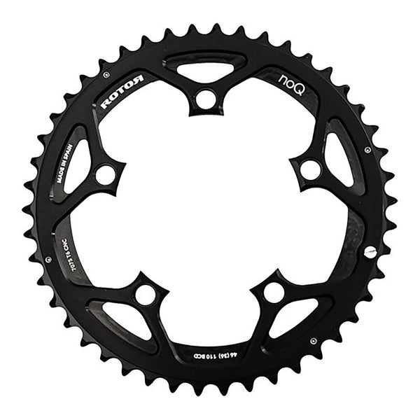 Rotor 38t NoQ Aero Chainring - 110 BCD - Sprockets Cycles