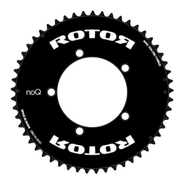 Rotor 53t NoQ Aero Chainring - 110 BCD - Sprockets Cycles