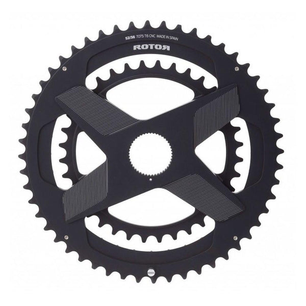 Rotor Aldhu Direct Mount NoQ Chainring 52/36t - Sprockets Cycles