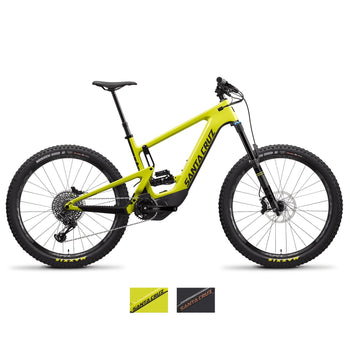 Santa Cruz Heckler CC S Full Suspension Electric Bike 2020 - Sprockets Cycles