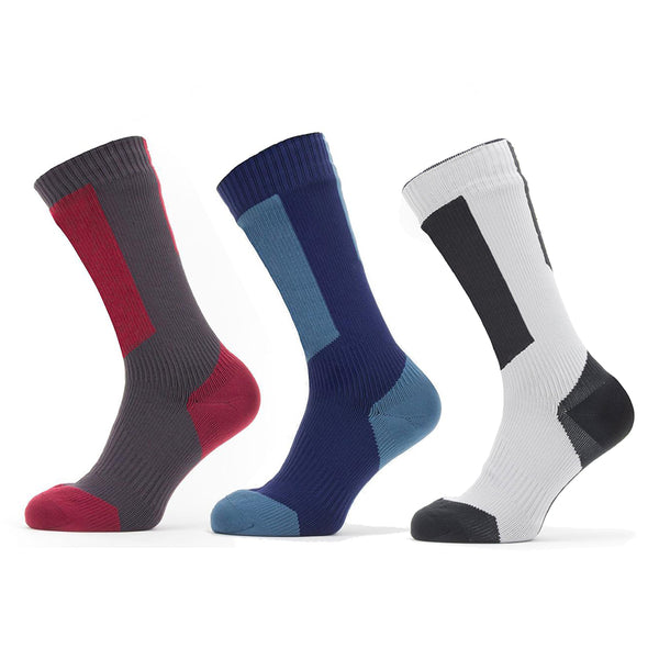 Sealskinz Waterproof Cold Weather Mid Socks with Hydrostop 2021