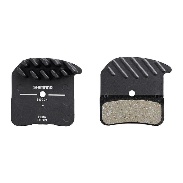 Shimano H03A Disc Brake Pads with Fins - Sprockets Cycles