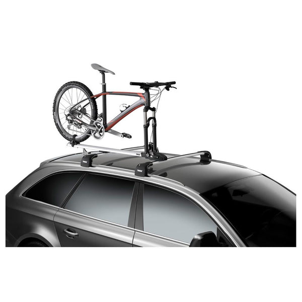 Thule 565 ThruRide Locking Upright Cycle Carrier - Sprockets Cycles