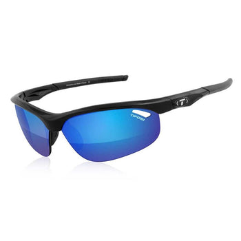 Tifosi Optics Veloce Sunglasses - Gloss Black / Clarion Blue - Sprockets Cycles