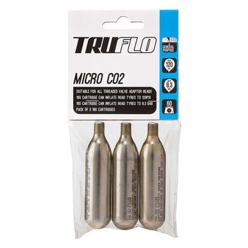 Truflo Micro Co2 3 Pack (3 x 16g) - Sprockets Cycles