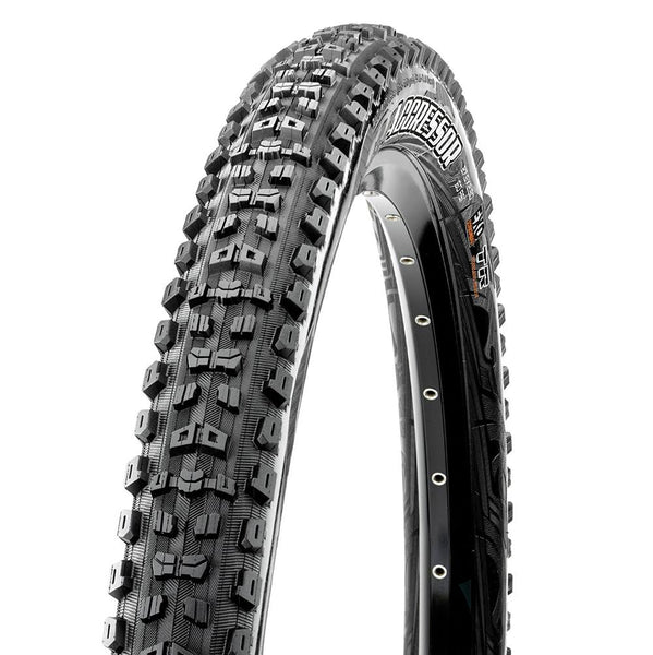 "Maxxis Aggressor 29"" 120TPI Folding Tyre - Dual Compound TR/DD - Sprockets Cycles"