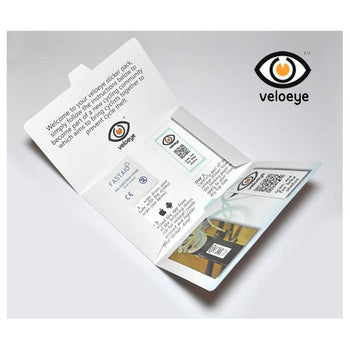 Veloeye Bike Security Sticker Kit - Sprockets Cycles