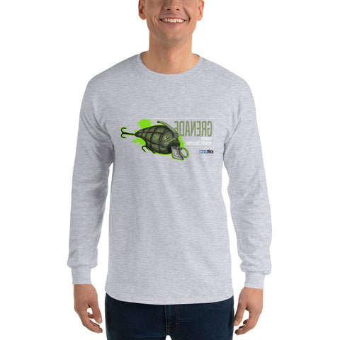 Grenade (Long-Sleeve Graphic T-Shirt)