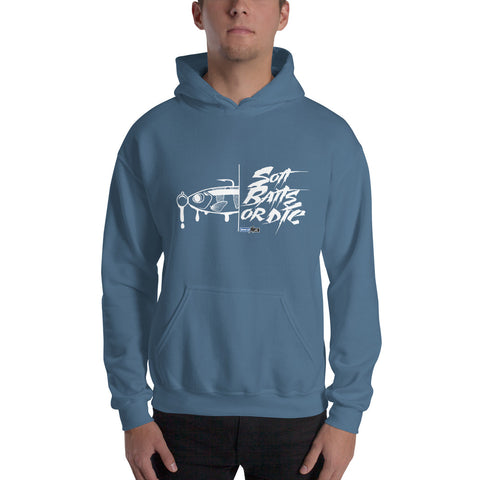 Soft Baits or Die (Sweat-Shirt - Graphic Hoodie)