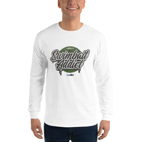 Swimbait Addict (Long-Sleeve Graphic T-Shirt)