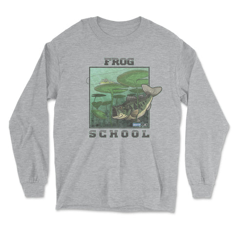 Frog School (Long-Sleeve Graphic T-Shirt)